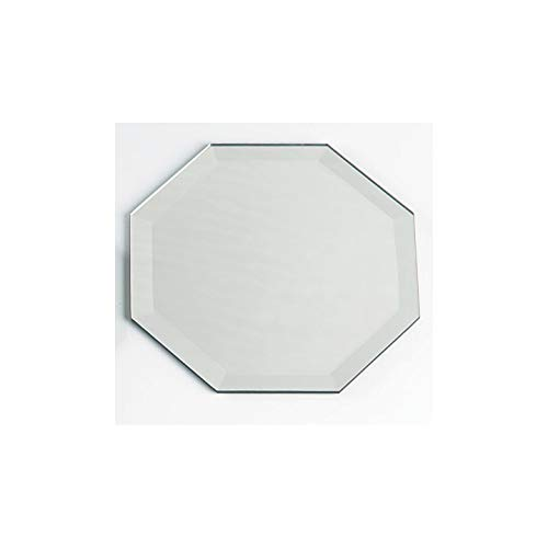 Darice Bulk Buy DIY Crafts Mirror Octagon with Beveled Edge 2 inches (6-Pack) 1633-66]()