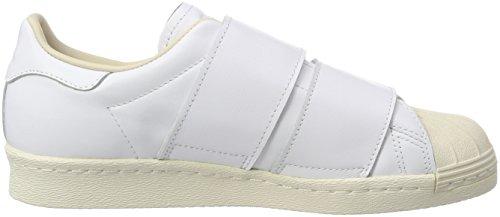 De Superstar Gymnastique Femme Blanc linen footwear 0 Chaussures White Cf W Adidas White footwear 80s qXZwU44A