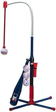 Franklin Sports Kids Teeball and Baseball Batting Tee - MLB 2-in-1 Grow-with-Me Tee - Adjustable Youth Hitting