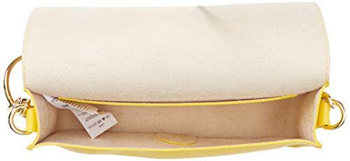 Bag New Chain Detail Circle Look Cross Yellow Bright Body Womens Yellow pp0Baf