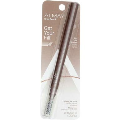 Almay Brow Defining Pencil, Dark Blonde 801, 0.0028-Ounce Packages (Pack of 2)