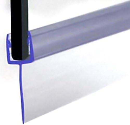 VeeBath SEAL006-P Sello para puerta de ducha tipo F, vidrio de 4-6 mm hasta 16 mm, transparente: Amazon.es: Bricolaje y herramientas
