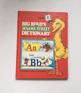 Big Birds Sesame Street Dictionary Volume 1 ()