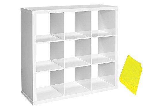 9 cube storage white - 7