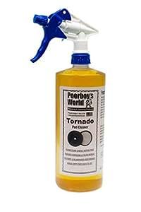 Tornado pad cleaner