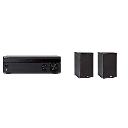Big Save! Sony STRDH190 2-ch Stereo Receiver with Phono Inputs & Bluetooth & Polk Audio T15 100 Watt...