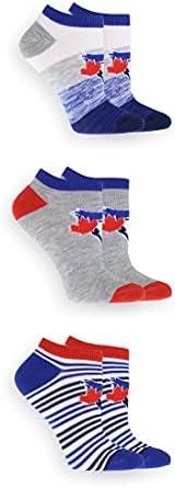 Gertex Women's 3-Pack MLB Toronto Blue Jays Ankle S