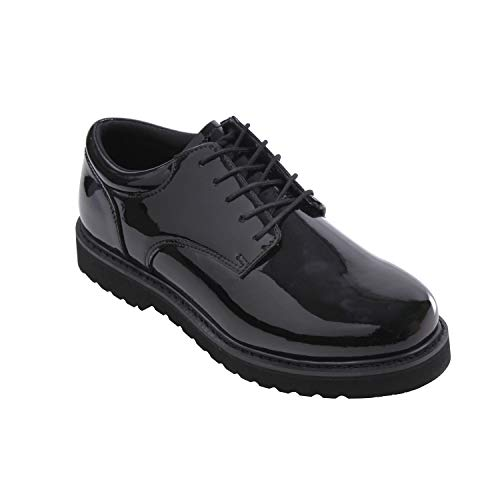 (Rothco Uniform Oxford/Work Sole, Black, 9.5)