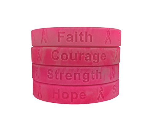 kinrex-breast-cancer-awareness-silicone-wristband-bracelets-hope-strength-faith-and-courage-50-count