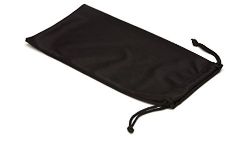 Pyramex Black Cloth Drawstring Spectacle Case by Pyramex - Strings Spectacle