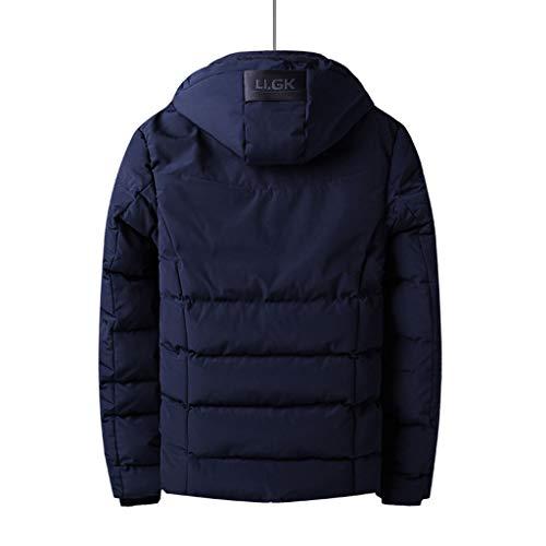 Taille Section Épaisse Chaud De D'hiver Vêtements Srl Black Xl Plus Foncé Bleu Longue Veste Velours Coton Manteau En couleur Gray pBaWqAw