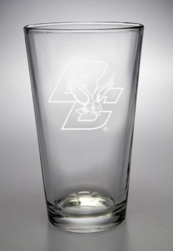 Boston College Eagles 16 Oz Deep Etched Pub Pint Glass