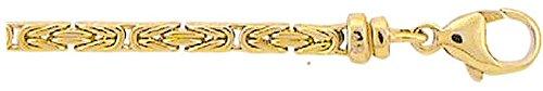 Roi chaîne or chaîne en or jaune 58545cm