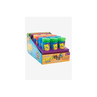 Pog Retro Kaps Multicolored Storage Tube Starter Set Game Includes: 20 Pogs & 2 Exclusive Slammers: Toys & Games