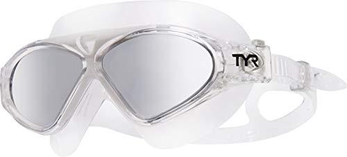 Magna Swim Mask Polarized Silver Clear Grey -