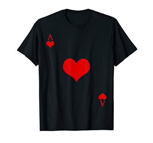Ace Of Hearts Funny Playing Cards Halloween -