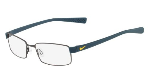 Nike Eyeglasses 8162 Satin Gunmetal/Night Factor Demo 17