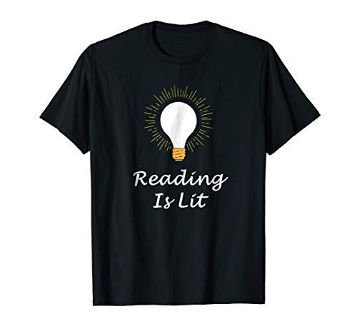 Love Reading Is Lit Book Reader Literacy - Reader Literacy