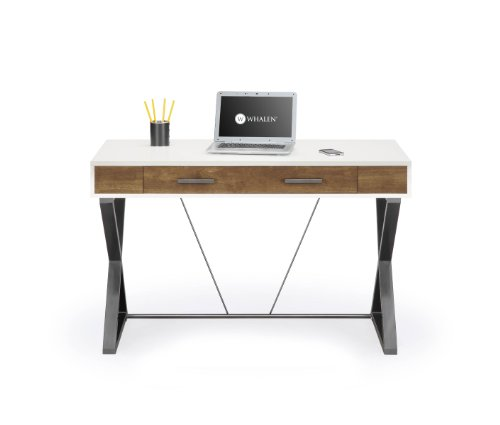 Modern Wood Desk: Amazon.com