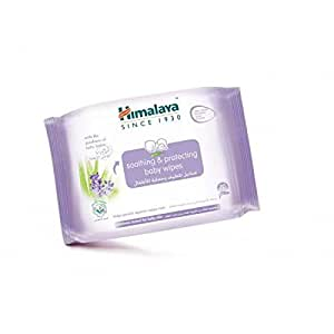 Himalaya Soothing & Protecting Baby Wipes 20's