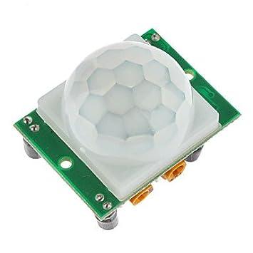 para Kits Arduino Piroeléctrico infrarrojo PIR de Movimiento del módulo del Sensor del Detector
