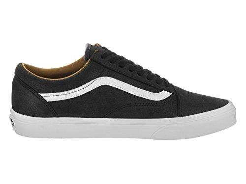 Vans Sk8-Hi - Zapatillas de skateboarding de ante para hombre Black / True White