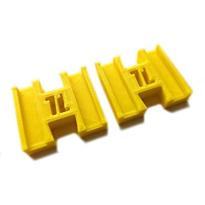 TrainLab Plarail Female Female Connector adapters (Yellow): Toys & Games