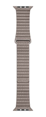 Apple Leather Loop for Apple Watch 42mm Large Smoke Gray MNL12AM/A