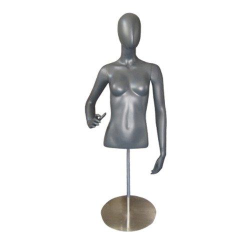BEIYANG Female Mannequin Torso Dress Form Display Stand Designer Pattern by BEIYANG