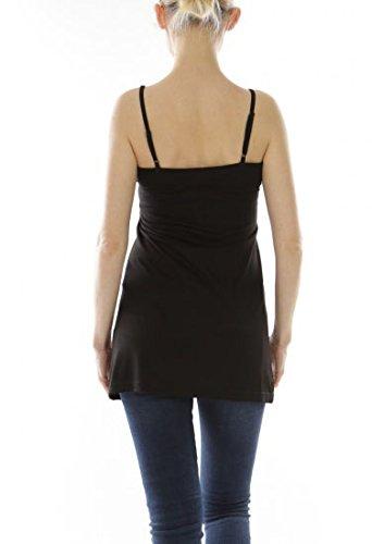 rglable Noir crme de Bretelle Robe Fond Noir Blanc w1tRFqz7