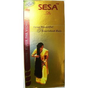 SESA Herbal Hair Oil 6.1 Ounce (180 ml) (Best Oil Mixture For Hair Growth And Thickness)