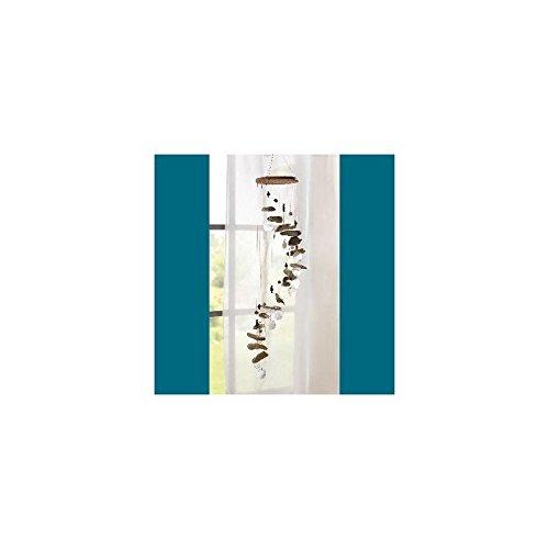 Windspiel Treibholz und Capizmuscheln Ca. 80 x 14,5 cm