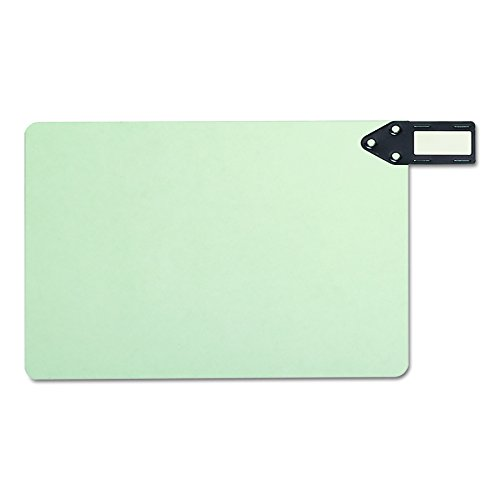 (Smead 100% Recycled End Tab Pressboard File Guides, Horizontal Metal Tab, Extra Wide Legal Size, Gray/Green, 50 per Box (63357))