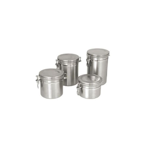 Update International Canister Stainless Steel