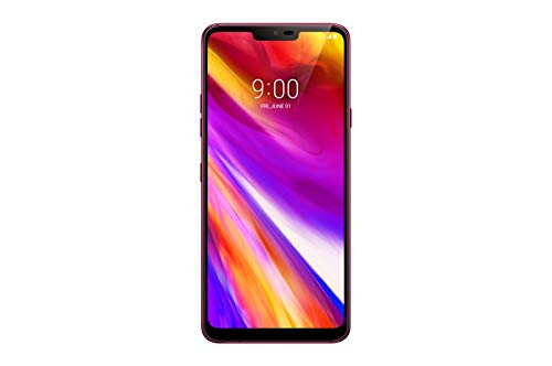 LG G7 ThinQ 6.1in LM-G710TM TMobile 64GB Android Smartphone (Renewed) (Raspberry Rose)