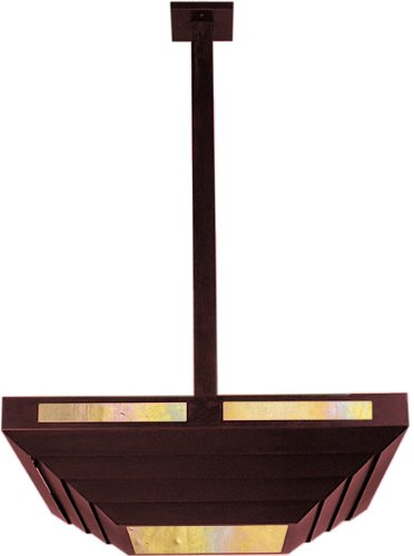 Arroyo Craftsman CAS-7-RC-GW Cascade Collection 1-Light Wall Sconce, Raw Copper Finish with Gold White Iridescent Glass