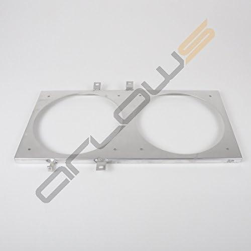 Aluminio Ventilador Chapa Honda CRX 88 – 91 (Soporte/fijación para ...