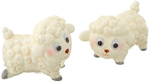 Appletree Design Lamb Salt and Pepper Set, 2-1/2-Inch (Stupid Lamb)