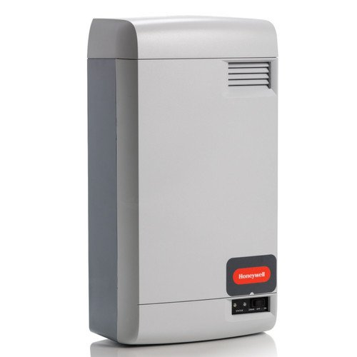 Honeywell HM700A1000/U Electrode Steam Humidifier with Humidi-Pro Humidistat, 11-22 gal/Day Capacity, Light Gray