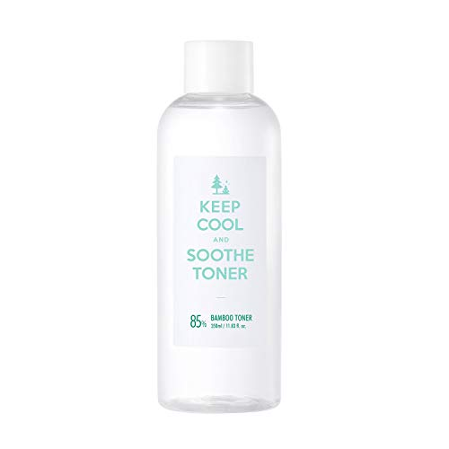 KEEP COOL Soothe Bamboo Toner 350ml 11.83 fl. oz. Instant Soothing Ultra Hydrating Toner Hypoallergenic, Dermatologist Tested