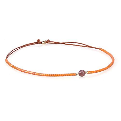 KELITCH Crystal Gems Mix Beaded Friendship Bracelets Charm Adjustable Bracelet New Jewelry