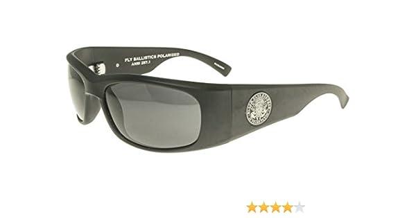 New Smoke Black Flys Fly Ballistics Sunglasses ANSI Z87 Matte Black