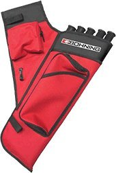 Adult Target (Bohning Adult Right Hand Target Quiver, Red)