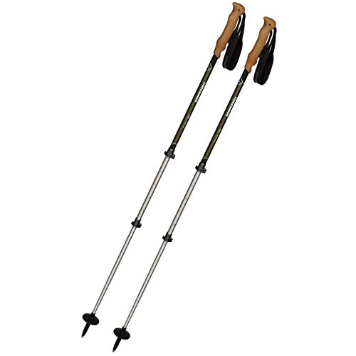 Komperdell Ridgehiker Cork Powerlock Trekking Poles – 105-140cm