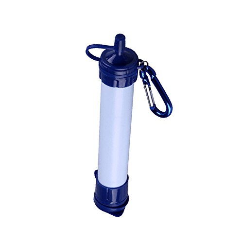 Portable Water Filter, Filtration Straw, Water Purification Straw, Pur H2O 1000L, Emergency Camping Equipment, Water Filtration 0.02 Micron, Chemical Free Water Filter, Survival Kit Hurricanes