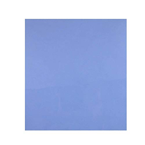 (200x200x1.5mm Thermal Pad,6W/m.k Thermally Conductivity Cooling Silicone Pads (Replace Compound Paste Tape) Apply to Filled Contact Surfaces Gap Reduce Work Temperature,For LED,CPU,GPU,Heatsink Fan)