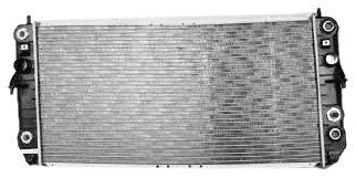 TYC 2369 Cadillac Deville 1-Row Plastic Aluminum Replacement Radiator