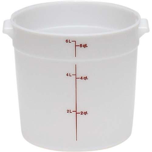 6 qt round container - 2