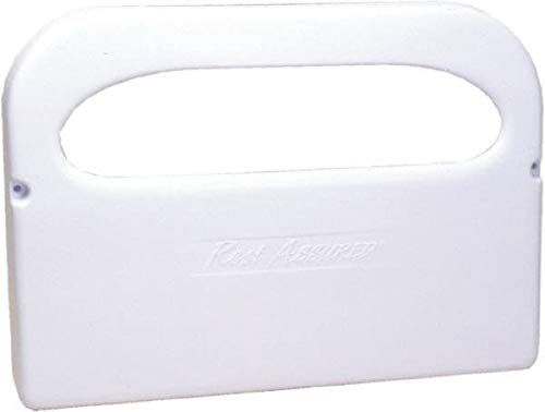 Value Collection - 250 Capacity White Plastic Toilet Seat Cover Dispenser (6 Pack)