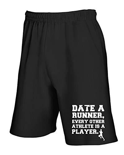 Pantaloncini Date A Runner Wes0795 T shirtshock Nero Tuta a0nxx5qf